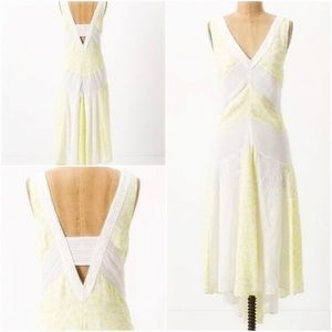 Anthro $228 Leifnotes Southern Exposure Dress